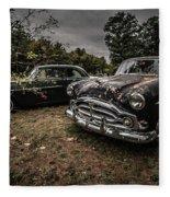 Vintage Cars Goshen Nh Fleece Blanket