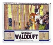 Vintage Poster - Gasteiner Waldduft Fleece Blanket