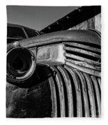 Vintage Truck Jerome Arizona Fleece Blanket