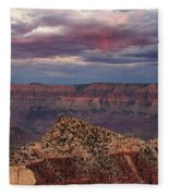 Virga Fleece Blanket by Rick Furmanek