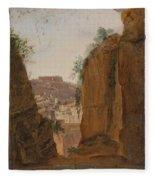 Virgil S Tomb  Naples  Fleece Blanket