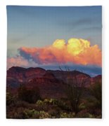Vivid Moments Fleece Blanket by Rick Furmanek