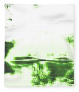 Voices Of A Long Lost Civilization Fleece Blanket by Bee-Bee Deigner