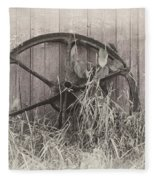 Wagon Wheel Fleece Blanket