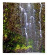 Waimoku Falls Fleece Blanket