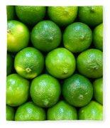 Wall Of Limes Fleece Blanket