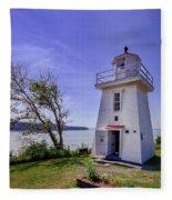 Walton Lighthouse Fleece Blanket
