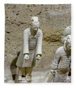 Warriors Of Pit 2, Xian, China Fleece Blanket