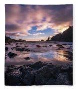 Washington Coast Skies Blue Clarity Fleece Blanket