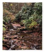 Washington Creek Fleece Blanket