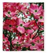 Washington State Magnolia Fleece Blanket