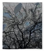 Wasteway Willow 04 Fleece Blanket