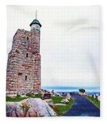 Watchtower Of The Sky Fleece Blanket