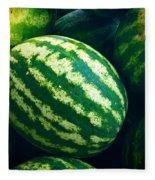 Watermelons Fleece Blanket