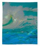 Waves Fleece Blanket