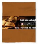 Wazifa To Remove Bad Thoughts  Fleece Blanket