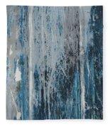 Weathered Wood Fleece Blanket by Jocelyn Friis
