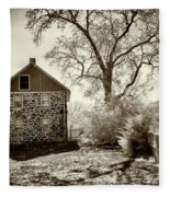 Weikert House At Gettysburg Fleece Blanket
