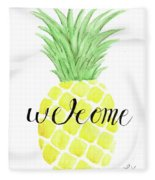Welcome Fleece Blanket