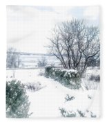 Welcome March Fleece Blanket