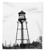 Weldwood Water Tower Fleece Blanket