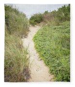 Wellfleet Sand Dunes Fleece Blanket