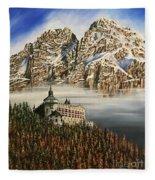 Werfen Austria Castle In The Clouds Fleece Blanket