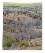 West Dakota Prairie Reverie Fleece Blanket