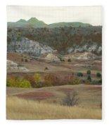 Western Edge Grasslands Grandeur Fleece Blanket