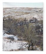 Western Edge Winter Hills Fleece Blanket
