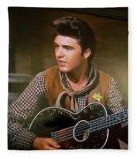 Western Ricky Nelson Fleece Blanket