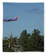 Wheels Down Fleece Blanket