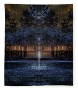 When Courage Springs Forth Fleece Blanket