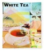 White Tea Blend  Fleece Blanket
