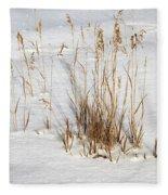 Whitehorse Winter Landscape Fleece Blanket