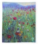 Wild Meadow Fleece Blanket