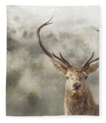 Wild Nature - Stag Fleece Blanket