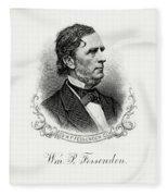 William P. Fessenden Fleece Blanket