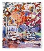 Williamsburg Color Fleece Blanket