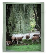 Wind In The Willows Fleece Blanket