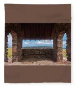 Window View - Ccc Lookout- Cedar Breaks - Utah Fleece Blanket