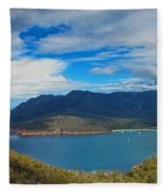 Wineglass Bay Fleece Blanket