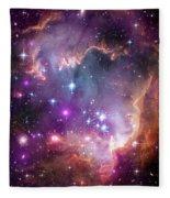 Wing Of The Small Magellanic Cloud Fleece Blanket