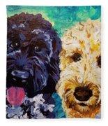 Winston And Ruby Fleece Blanket