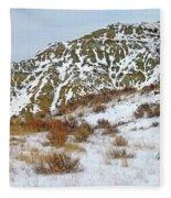 Winter Badlands Fleece Blanket
