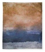 Winter Landscape  Fleece Blanket by Andrea Kollo