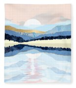 Winter Reflection Fleece Blanket
