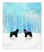 Winter Romance Fleece Blanket