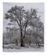 Winter Survivor Fleece Blanket