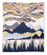 Winter's Sky Fleece Blanket
